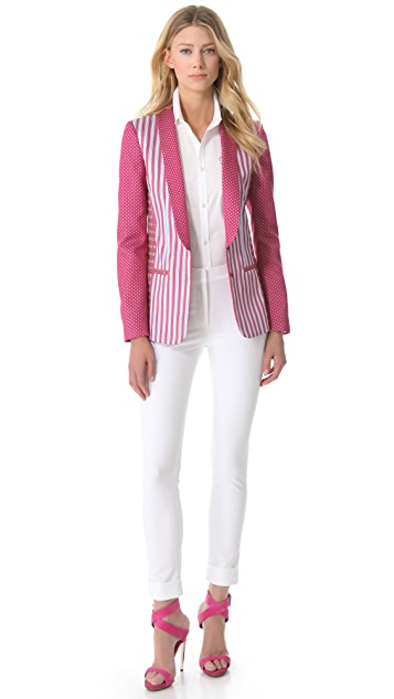 Philosophy di Lorenzo Serafini Striped Blazer