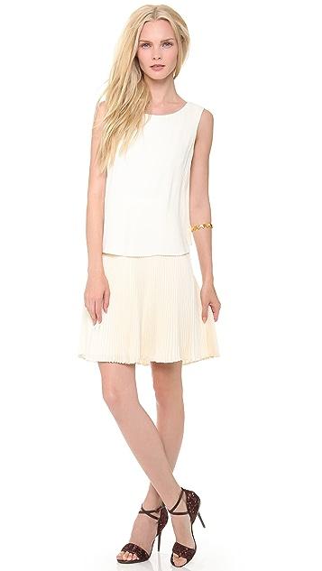 Philosophy di Lorenzo Serafini Sleeveless Pleated Dress