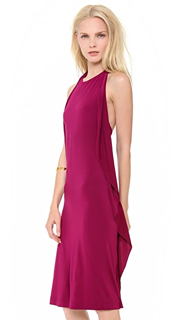 Philosophy di Lorenzo Serafini Halter Dress