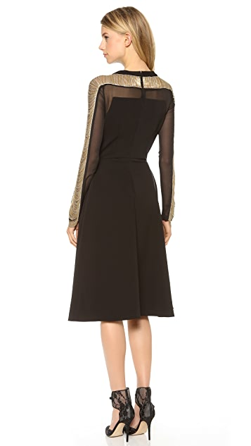 Philosophy di Lorenzo Serafini Dress with Detailed Sleeves