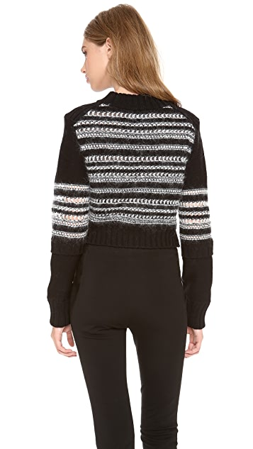 Philosophy di Lorenzo Serafini Multi Knit Sweater