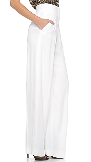 Philosophy di Lorenzo Serafini Satin Wide Leg Pants