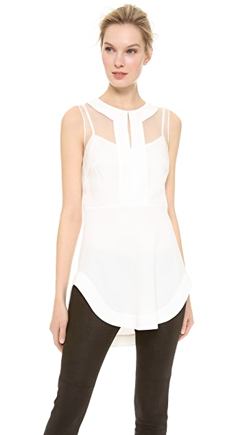 Philosophy di Lorenzo Serafini Sleeveless Tunic Top