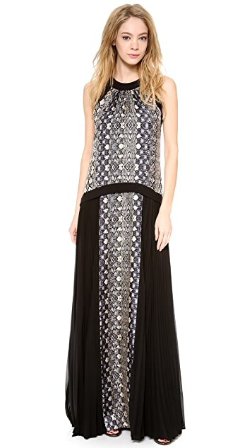 Philosophy di Lorenzo Serafini Sleeveless Gown