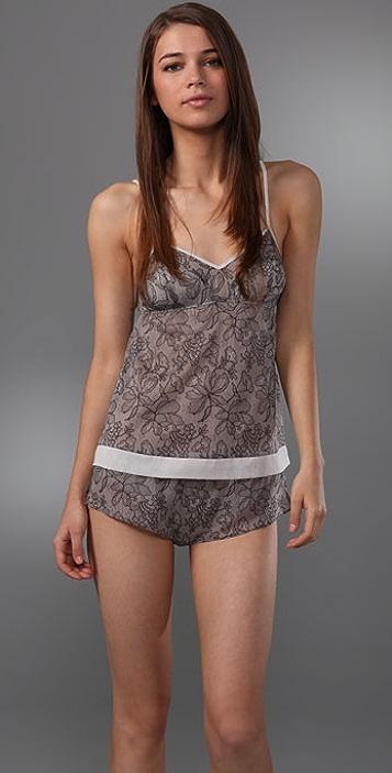 3.1 Phillip Lim Printed Lace Camisole