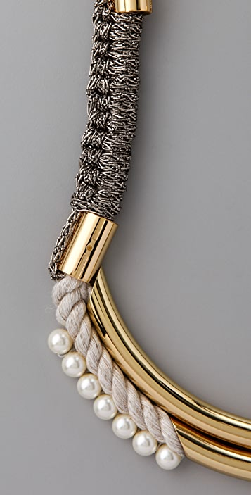 3.1 Phillip Lim Tubular Long Jagger Necklace