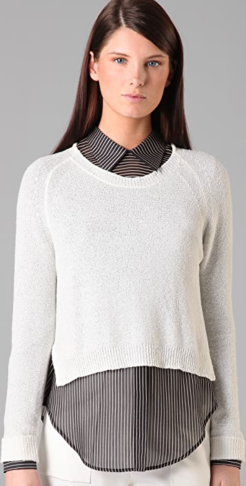3.1 Phillip Lim Roll Neck Pullover with Side Slits