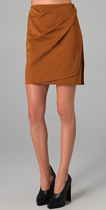 3.1 Phillip Lim Draped Wrap Skirt