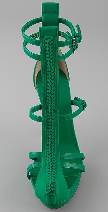 3.1 Phillip Lim Regine T-Strap Sandals