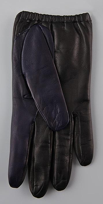 3.1 Phillip Lim Dot Driving Gloves