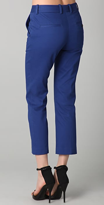 3.1 Phillip Lim Flat Front Cropped Trousers