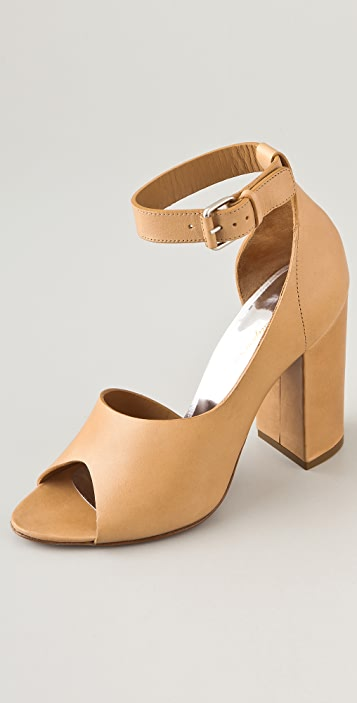 3.1 Phillip Lim Cody Half D'Orsay With Ankle Strap