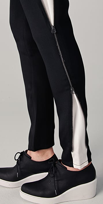 3.1 Phillip Lim Side Panel Trousers with Zippers