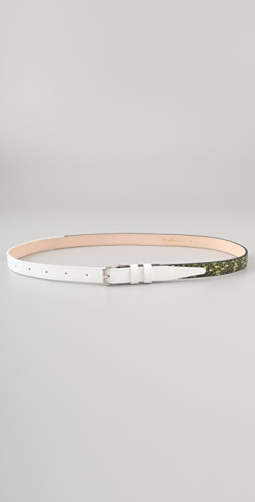 3.1 Phillip Lim Two Tone Trouser Belt