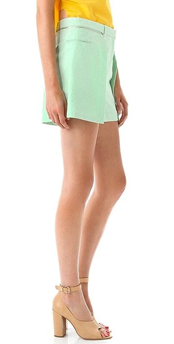 3.1 Phillip Lim Layered Shorts with Skirt Overlay