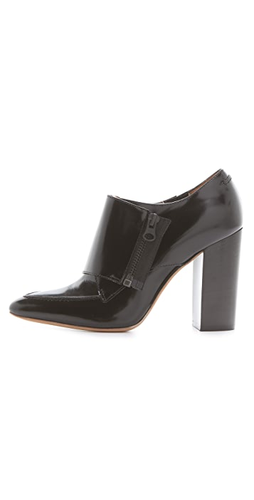 3.1 Phillip Lim Delia Zip Monk Strap Booties