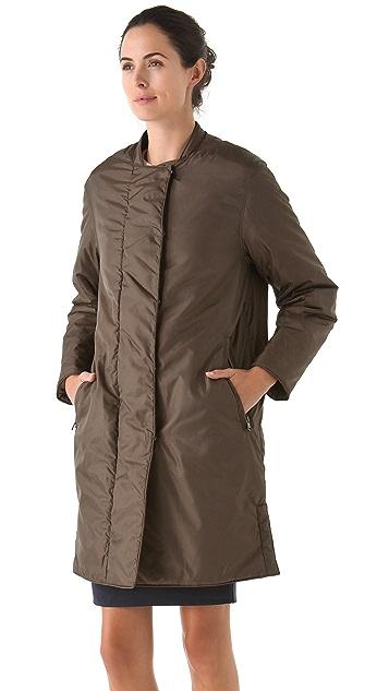 3.1 Phillip Lim Long Piumino Overcoat