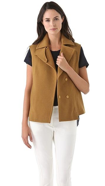 3.1 Phillip Lim Detachable Sleeve Pea Coat