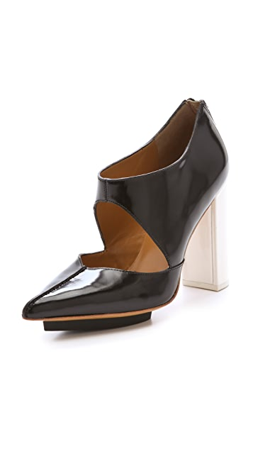 3.1 Phillip Lim Kadie Cut Out Booties