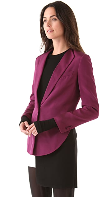 3.1 Phillip Lim Cropped Back Blazer