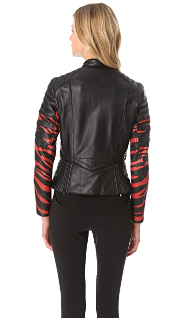 3.1 Phillip Lim Tiger Leather Jacket