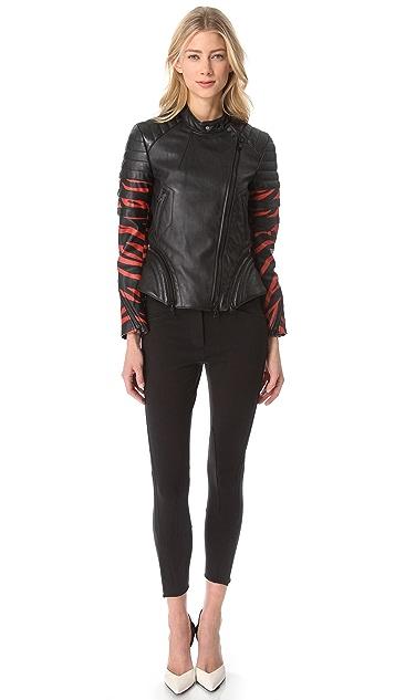 3.1 Phillip Lim Tiger Leather Jacket