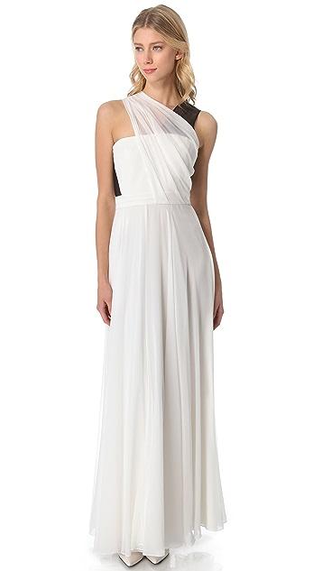 3.1 Phillip Lim Asymmetrical Draped Gown