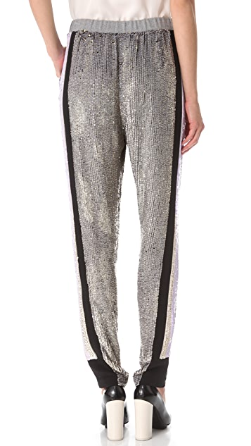 3.1 Phillip Lim Sequin Sweatpants