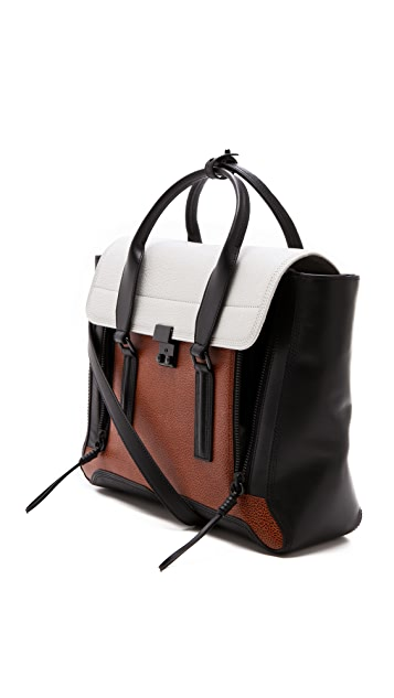 3.1 Phillip Lim Pashli Colorblock Satchel