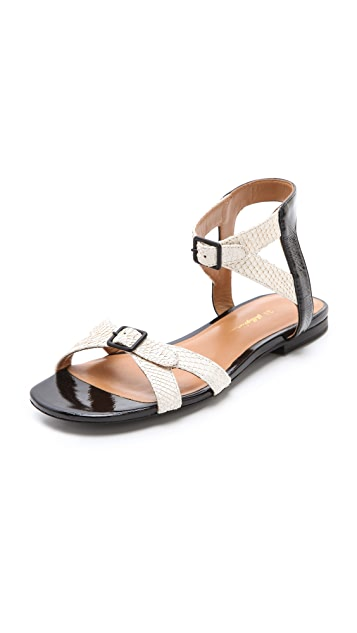 3.1 Phillip Lim Posted Ankle Strap Sandals