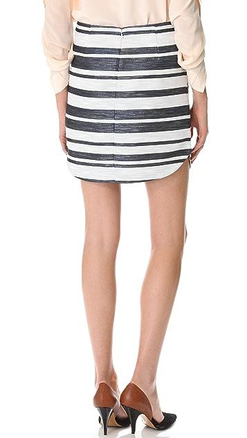 3.1 Phillip Lim Curved Hem Miniskirt