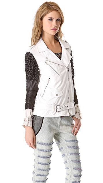 3.1 Phillip Lim Trifecta Studded Leather Jacket