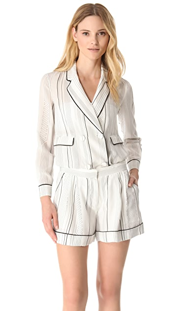 3.1 Phillip Lim Pajama Piped Jacket