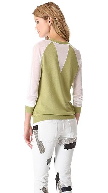 3.1 Phillip Lim Sheer Sleeve Sweater