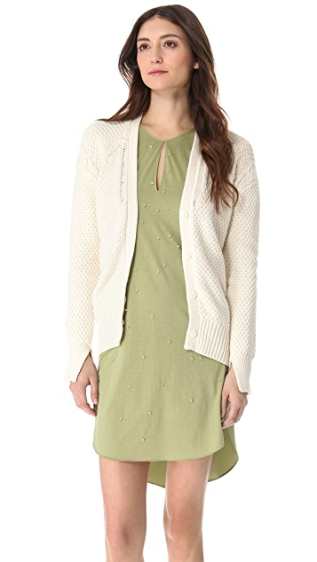 3.1 Phillip Lim Textured Stitch Cardigan