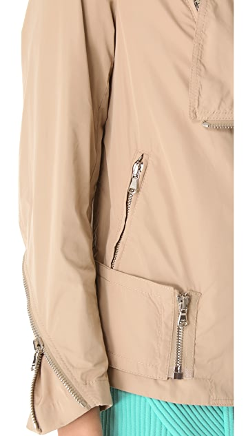 3.1 Phillip Lim Oversized Biker Jacket