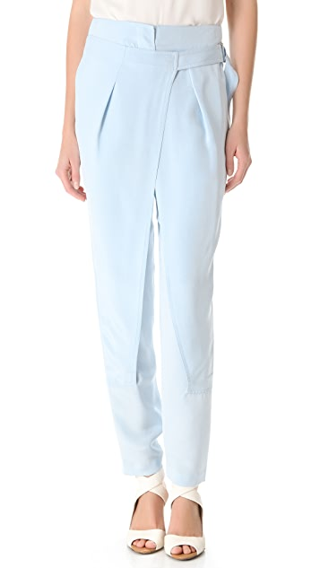 3.1 Phillip Lim Cross Front Wrap Trousers