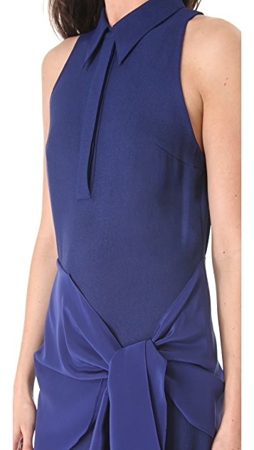 3.1 Phillip Lim Tie Waist Dress with Collar