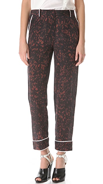 3.1 Phillip Lim Spotted Pony Pajama Trousers