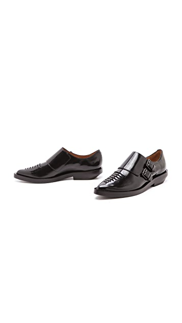 3.1 Phillip Lim Lissy Monk Strap Oxfords
