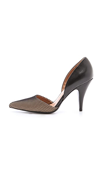 3.1 Phillip Lim Diamond D'Orsay Pumps