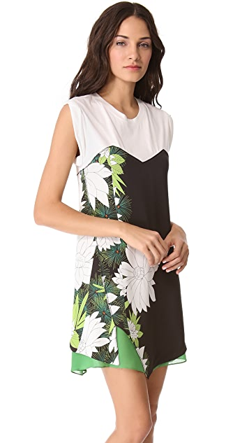 3.1 Phillip Lim Distorted Chrysanthemum Tee Dress