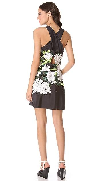3.1 Phillip Lim Distorted Chrysanthemum Dress