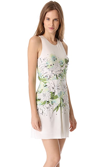 3.1 Phillip Lim Distorted Chrysanthemum Dress