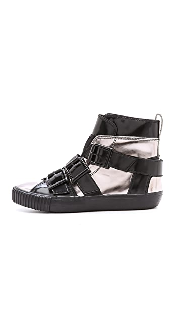 3.1 Phillip Lim Lyon Buckle Sneakers