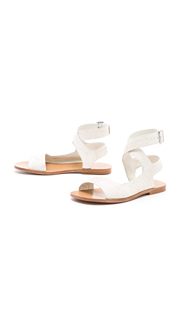 3.1 Phillip Lim Lily Cutout Flat Sandals