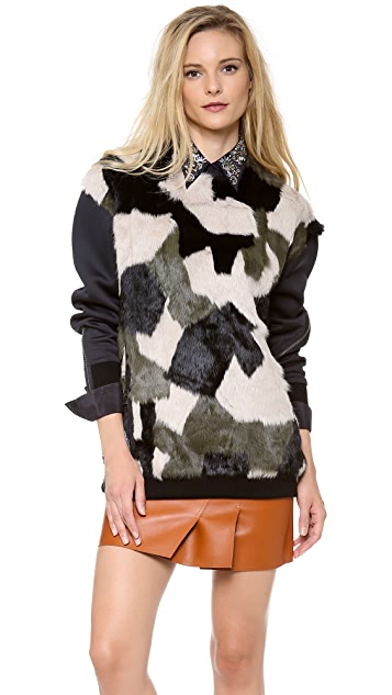 3.1 Phillip Lim Patchwork Sweatshirt