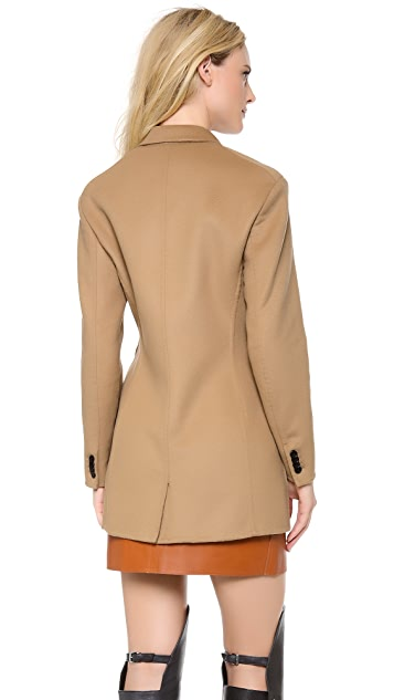 3.1 Phillip Lim Split Sides Pea Coat