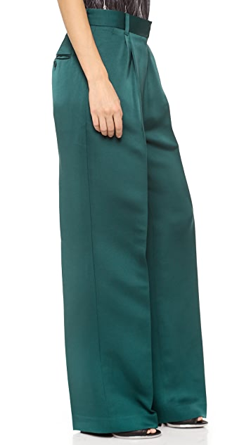 3.1 Phillip Lim Pleated Wide Leg Pants