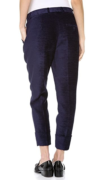 3.1 Phillip Lim Cuffed Dickey Pants